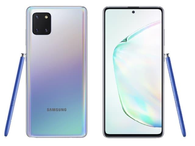 Le nouveau Samsung Galaxy Note 10 Lite.