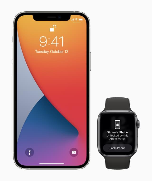L'iPhone peut désormais reconnaître la présence de votre Apple Watch pour se déverrouiller en toute sécurité.