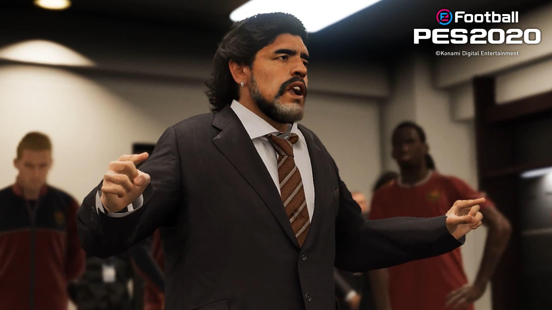 L'argentin Diego Maradona est l'un des coachs légendaires disponibles : spectacle garanti !