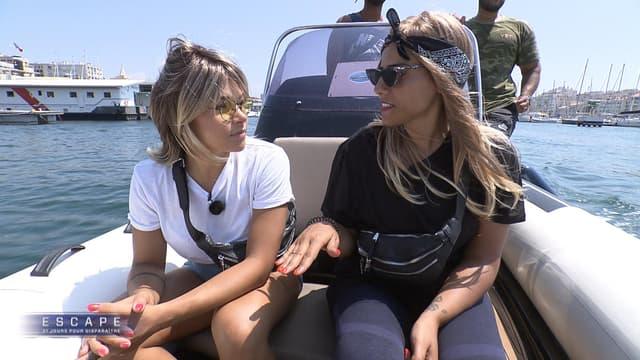 Sabrina et Aurélie lors de leur cavale dans la saison 2 d'Escape sur RMC Story.