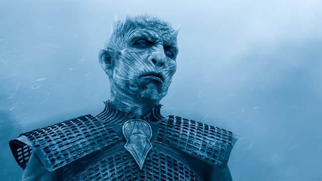 Le Roi de la Nuit, grand antagoniste dans Game of Thrones.