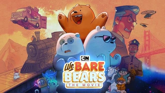 """Panda, Grizzly et Polaire embarquent dans une grande aventure dans le film """"We Bare Bears""""."""
