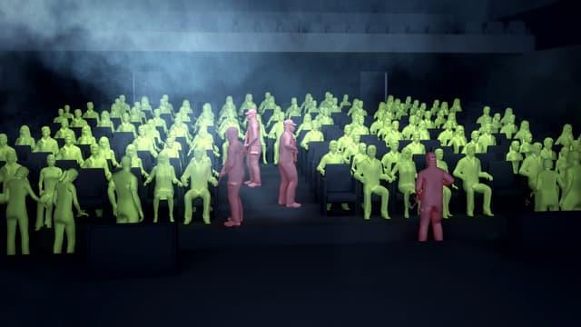 Une reconstitution 3D de la prise d'otages du théâtre de Moscou en 2002