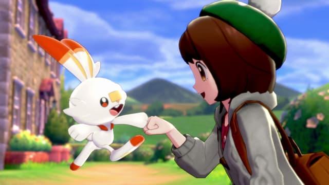 Flambino, le starter de type Feu dans Pokémon Épée et Bouclier
