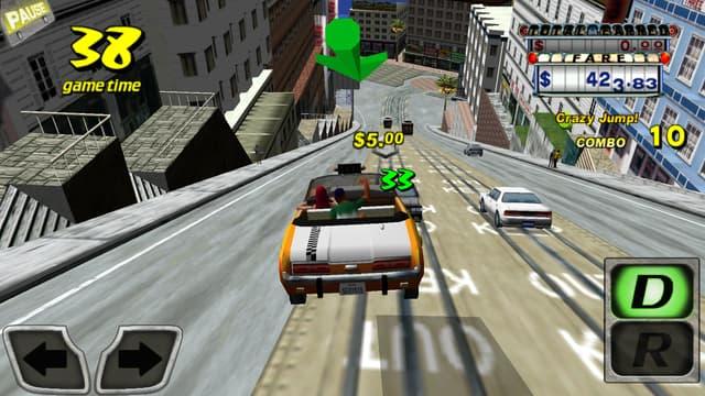 Ce client ne savait pas qu'il venait de mettre les pieds dans le Crazy Taxi !