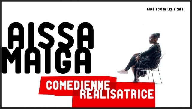 Aïssa Maïga dans Où sont les noirs ? sur RMC Story.
