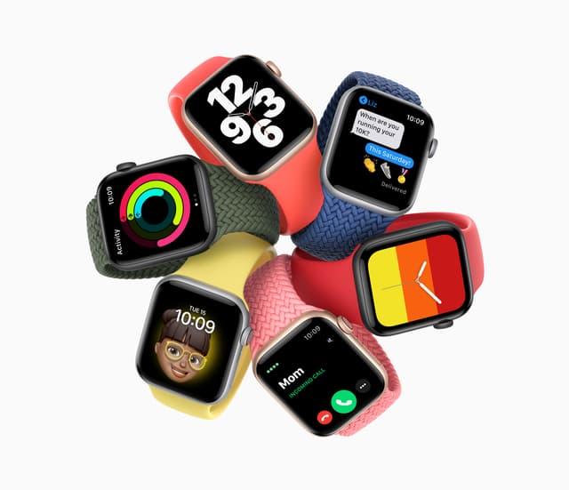 L'Apple Watch SE, la montre connectée à prix réduit, est disponible chez SFR