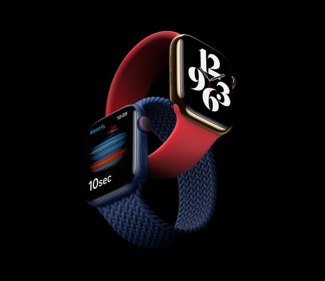 L'Apple Watch Series 6 est disponible sur la boutique en ligne de SFR