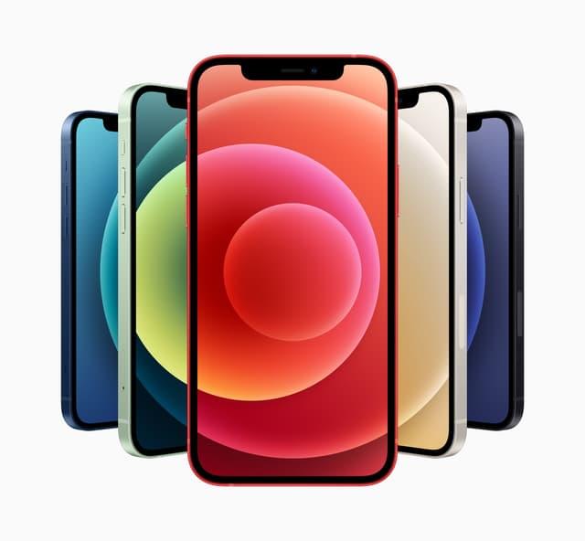L'iPhone 12 promet des couleurs éclatantes !
