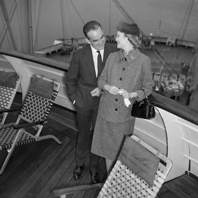 Le prince Rainier et Grace Kelly se sont rencontrés lors du Festival de Cannes