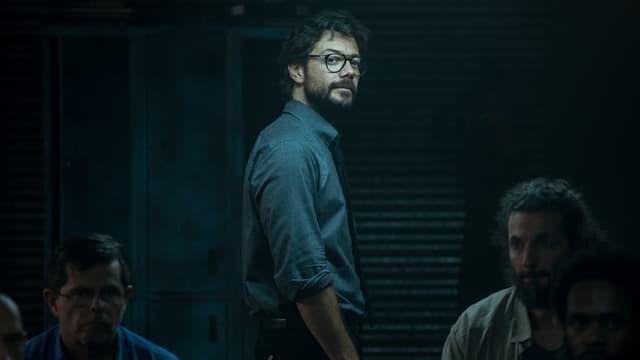El Profesor, dans la saison 4 de la Casa de Papel, disponible sur Netflix depuis votre box SFR.