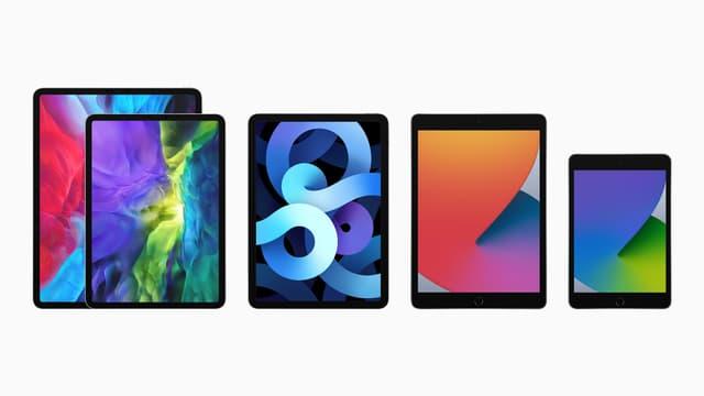 La famille iPad s'est encore agrandie en 2020...