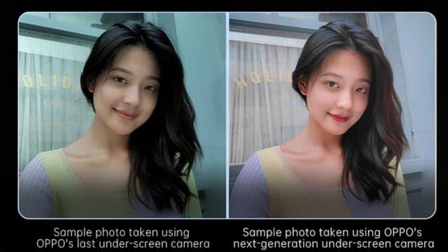L'évolution entre les 2 selfies est évidente sur cette image