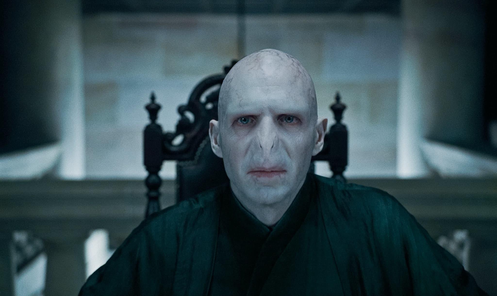 Voldemort (Ralph Fiennes), grand méchant parmi les méchants dans la saga Harry Potter.