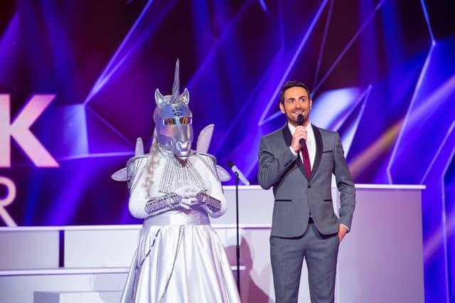La licorne dans Mask Singer sur TF1.