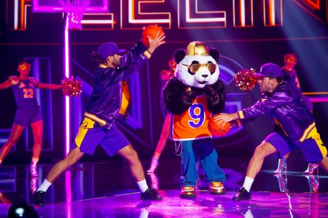 Le panda dans Mask Singer sur TF1