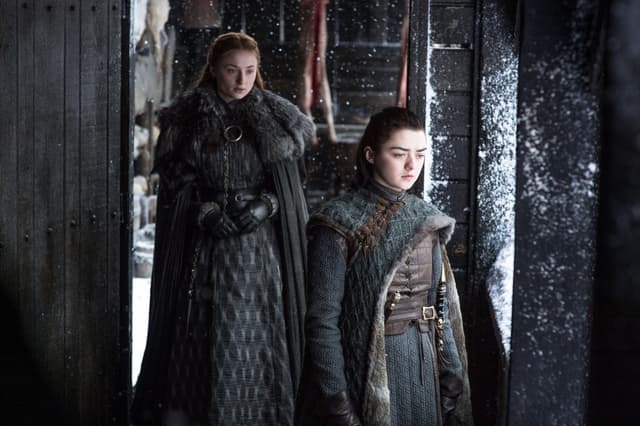 Les deux filles de la famille Stark ont toutes leurs chances de survie, selon les prédictions.