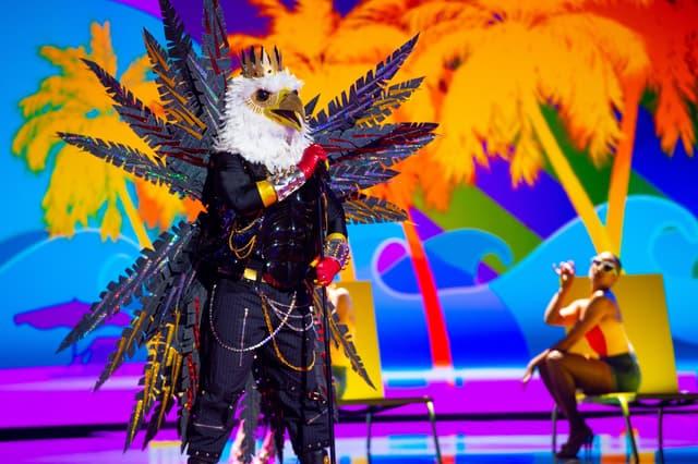 L'aigle dans Mask Singer sur TF1.
