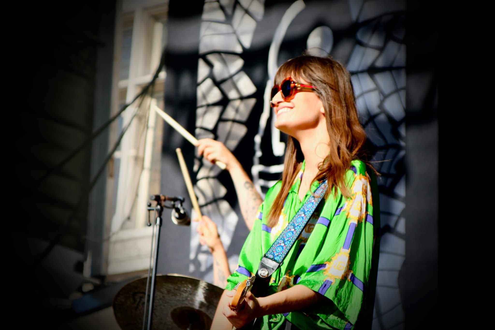 La chanteuse Clara Luciani a ravi le public du FNAC Live Paris.