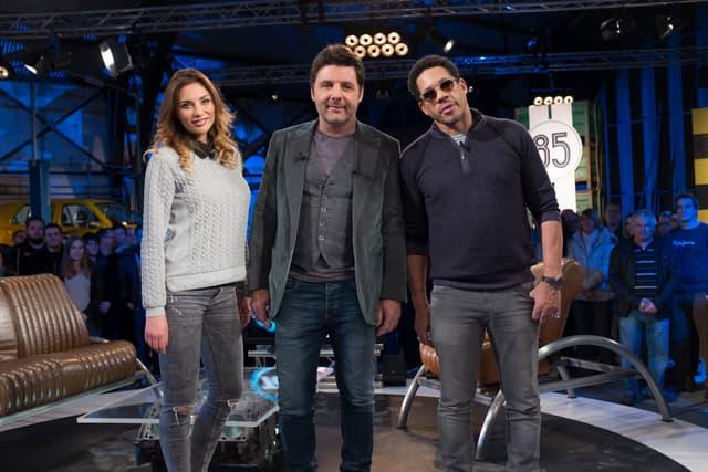 Joey Starr (à droite de la photo) est passé dans Top Gear, mais pas dans sa Benz Benz Benz