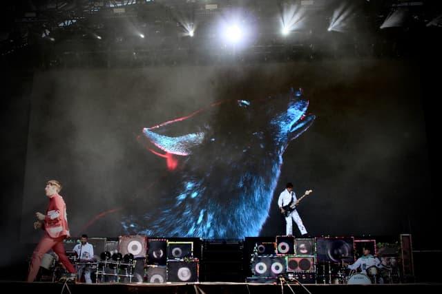 Bring Me The Horizon avait sorti une sacrée déco pour s'approprier la Grande Scène de Rock en Seine