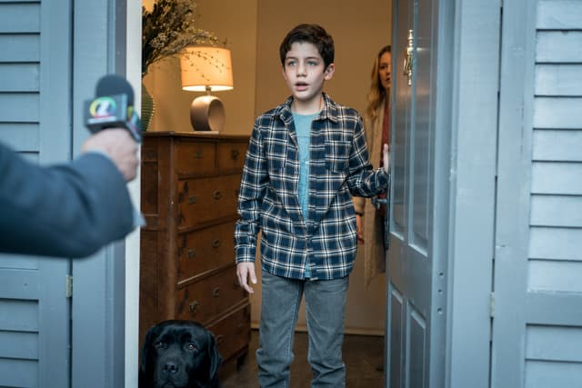 Flynn Durand, interprété par Patrick McAuley, fils d'Emily Byrne et Nick Durand dans Absentia.