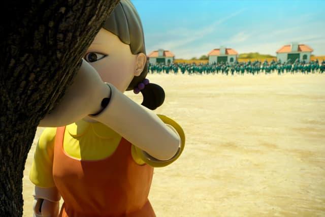 """Avouez-le, vous aussi la poupée géante qui compte """"1, 2, 3, soleil"""" vous fait flipper, non ?"""