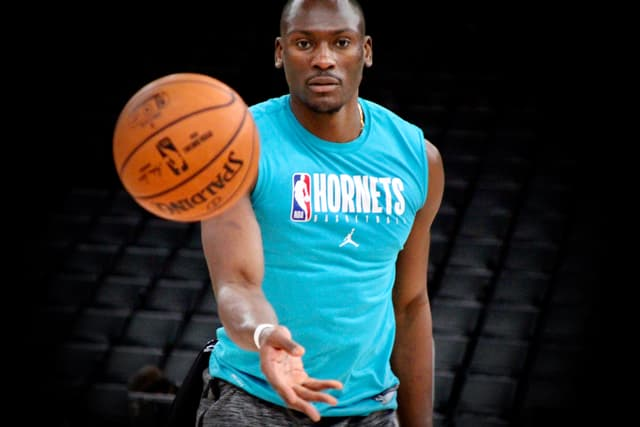 Le pivot congolais de 2m03 des Charlotte Hornets, Bismack Biyombo.