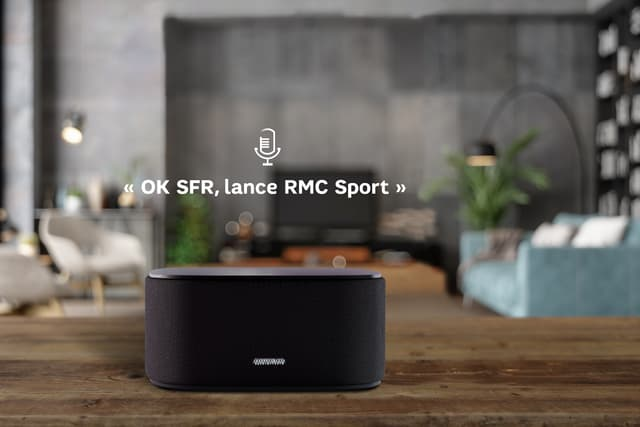 La SFR Box 8 embarque une commande vocale