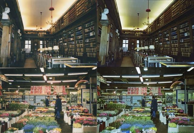 À gauche, les tirages originaux d'époque, à droite, les négaitfs scannés avec PictoScanner.