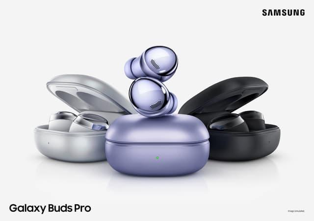 Les Galaxy Buds Pro délaissent l'aspect beans pour revenir à un design plus sobre
