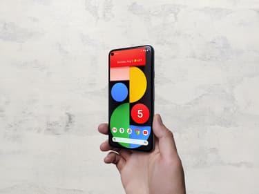 Pixel 5a : déjà un aperçu du prochain smartphone de Google ?