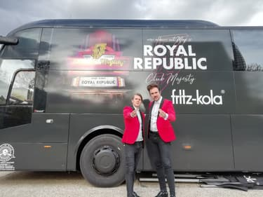 Royal Republic, le sens de la fête