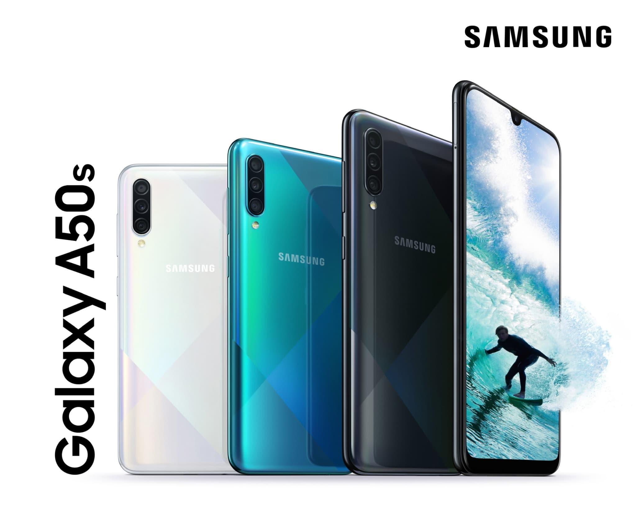 Le Galaxy A50, le smartphone bon marché signé Samsung.