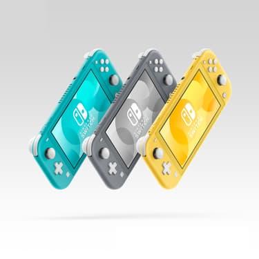 La Nintendo Switch Lite, une version allégée du modèle original.