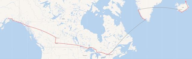 Pékin Express : la route du Nord. Départ : Alaska, arrivée : l'Islande.