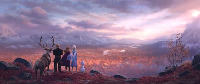 L'automne, thème principal de La Reine des Neiges 2 ?