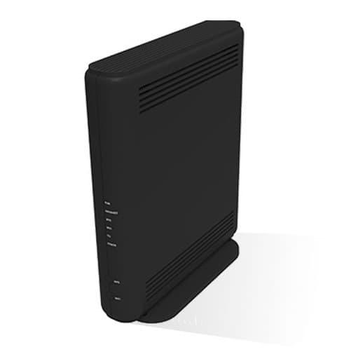 Le boîtier fibre ou ADSL de la SFR Box 8 vu de face