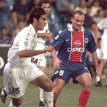 Le Parisien Vincent Guérin face au Madrilène Fernando Sanz, le 29 mai 1997 à Madrid pour un jubilé