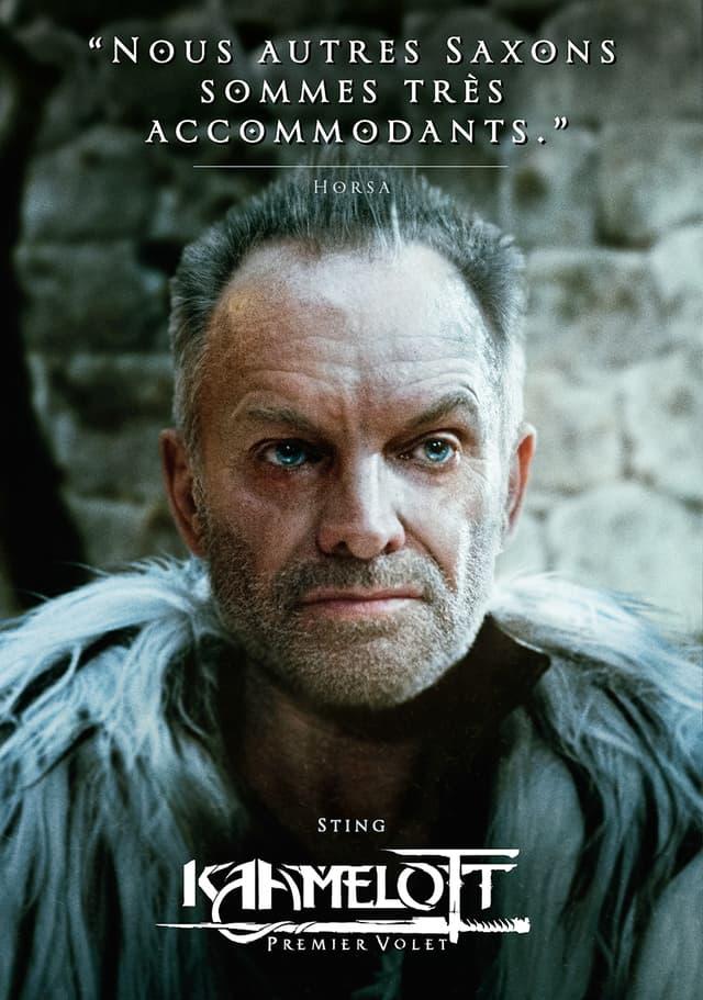 Sting joue le mercenaire saxon Horsa dans le film Kaamelott : Premier Volet