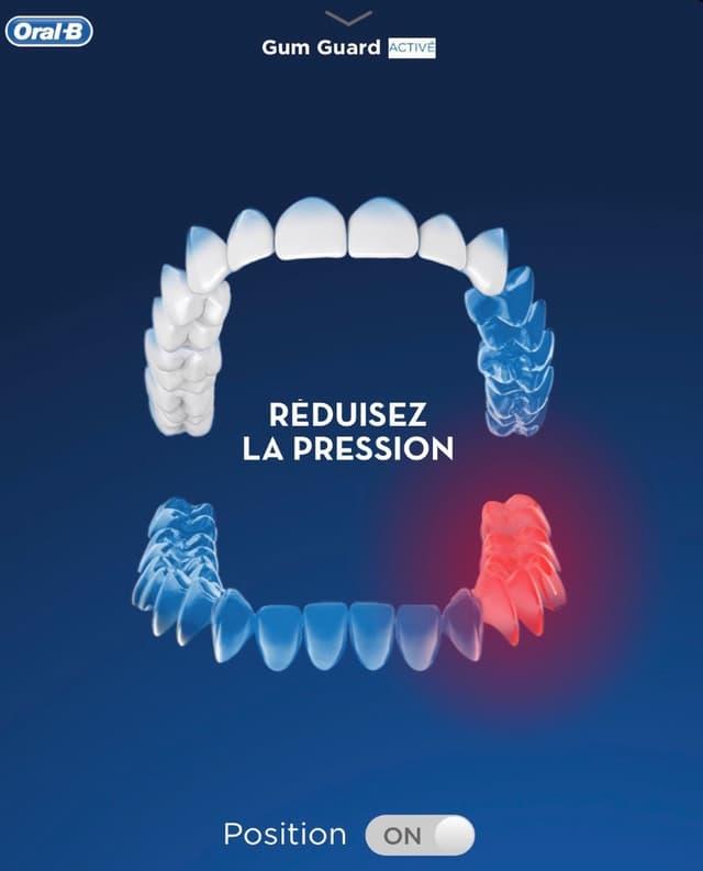 Veillez à bien vous brosser les dents avec l'aide de l'application dédiée d'Oral-B.