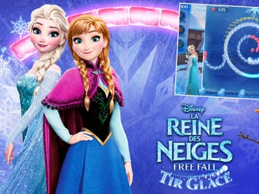 Frozen Free Fall : Icy Shot, le jeu mobile de La Reine des Neiges
