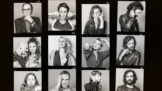 Le casting de la série Vernon Subutex, diffusée sur Canal+.