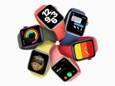 L'Apple Watch SE est disponible chez SFR