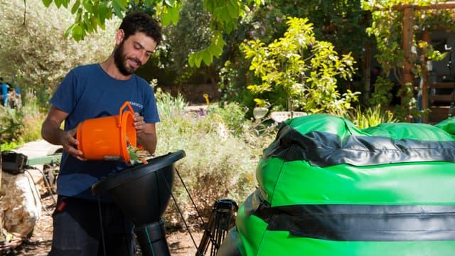 La technologie HomeBiogas permet de transformer les déchets alimentaires en énergie.