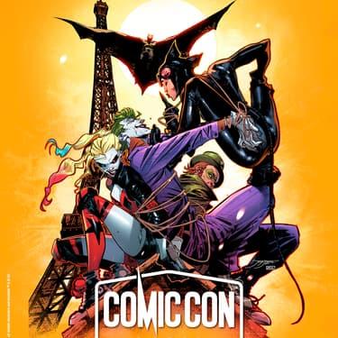 Le Comic Con Paris 2019 met le Chevalier noir et ses mythiques vilains à l'honneur de sa 5ème édition.
