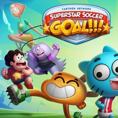 CN Superstar Soccer : Goal !!!, un jeu mobile complètement fou pour jouer au foot avec les meilleurs personnages de l'univers Cartoon Network.