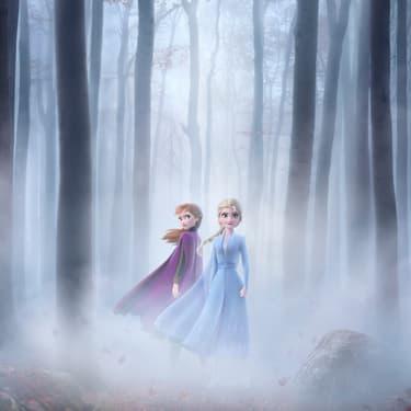 Affiche de La Reine des Neiges.