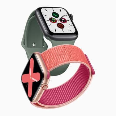 L'Apple Watch Series 5 est disponible !