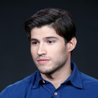 Cameron Cuffe, star de la série Krypton, aux Winter Television Critics Association Press Tour, en janvier 2018.